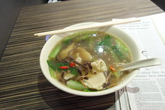 () (bellaphon) Tags: food london cuisine restaurant chinatown soho pasta delicious malaysian cr hokkien handpulled   meinfankuih meehoonkuih