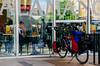 BiKe & BiKer (Walimai.photo) Tags: street color colour bike train tren calle nikon bicicleta ciclista bici biker salamanca estación 18105 d7000