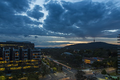Canberra by night (vk2gwk - Henk T) Tags: hotel view room canberra qt act