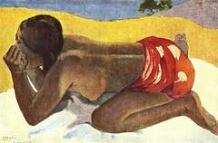 Otahi : Seule (P Gauguin)