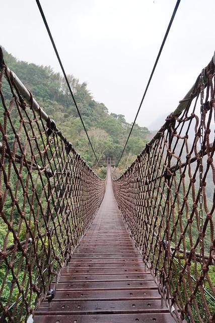 【台灣,桃園】小烏來小旅行,新落成的「天空繩橋」&天空步道2.0版,小刺激真趣味。