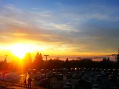 winter sunset (world of jan) Tags: sunset vancouver bc britishcolumbia burnaby inversion burnabymountain burnabymountainpark temperatureinversion
