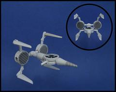 Stiletto (Karf Oohlu) Tags: lego spaceship stiletto moc starfighter microscale microspacetopia