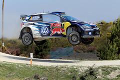 Sebastien Ogier | Volkswagen Polo | WRC | 2016 (GeorgeVieiraSilva) Tags: blue portugal volkswagen french rally e exibio rallyportugal ingrassia sebastienogier