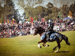 The Charge of the Knight (bsam4109) Tags: horse welding weld knight joust jousting medievalfair