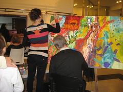 Artistas (leograttoni) Tags: art buenosaires arte interior painter pintor artista cuadro laplata exposicin excibition