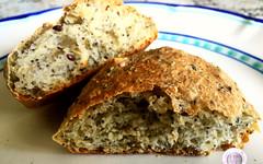Ricetta del pane ai semi misti (RicetteItalia) Tags: bio pane cucina ricette