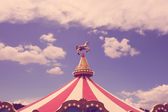 Cotton candy (Argyro...) Tags: sky cloud candy carousel cotton