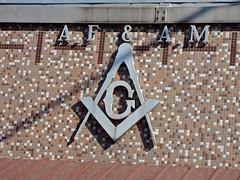 Masonic Lodge #245, Greenville, IL (Robby Virus) Tags: emblem logo temple illinois ancient free lodge masonic masons fraternal organization greenville freemasons accepted afam