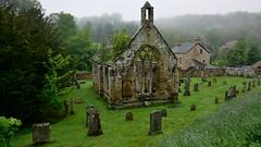 Temple ruin (andrewmckie) Tags: templarsscotland temple scotland ruins outdoor mist overcast balantrodoch templars chapel balantradoch