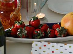Frukost (dese) Tags: norway breakfast strawberries lofoten kabelvg frukost frhstck colazione erdbeeren jordbr noreg morgenmad jagoda nordland aamiainen 2016 march30