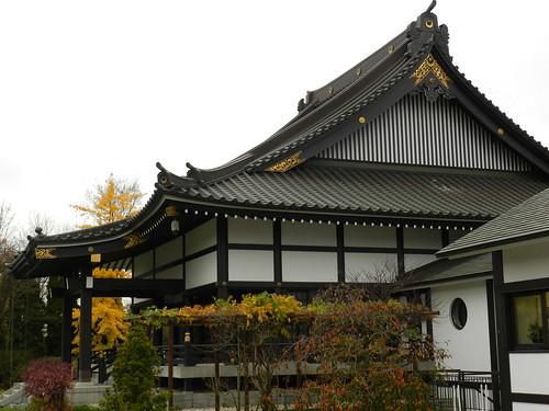 The shin-buddhist temple at Düsseldorfs Ekō-Haus