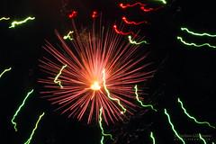 Sea Urchin and Green Glowworms (Lihoman...) Tags: light abstract art lines painting fire long exposure fireworks shapes spot dot line spots flare forms form unreal burst splash dots shape sparks feuerwerk     lihoman