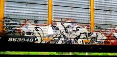 ayan '08 (timetomakethepasta) Tags: ayan tms aos freight train graffiti autorack murder suspect