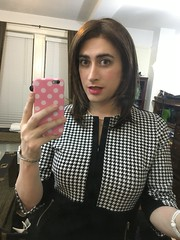 Houndstooth Redux (SecretJess) Tags: girls girly cd femme tgirl lgbt transvestite casual trans crossdresser crossdress gurl tg bigender genderfluid girlslikeus
