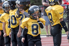 From Pacifier to Mouth Guard (acase1968) Tags: oregon football nikon university stadium pass pop southern warner d750 warriors halftime tamron sou grants raider 150600mm