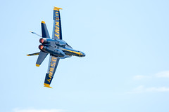 218A7110 (W.L.M.II) Tags: hornet f18 usnavy fa18 fa18hornet navalaviators theblueangels spiritofstlouisairshowstemexpomay2016