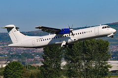 LY-MCA (GH@BHD) Tags: aircraft aviation airliner turboprop atr atr72 egac bhd belfastcityairport danuorotransportas lymca