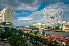 Pacifico Yokohama, Minatomirai (Arutemu) Tags: street city urban streets japan canon asian japanese asia cityscape view vista  yokohama  kanagawa japonesa  japon  japones ville  japonais         japonaise pacificoyokohama     eos50d