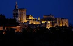 """""""Palais des Papes"""" - Avignon (Vaucluse, Provence, France) (Lautergold) Tags: avignon unescoworldheritage palaisdespapes blauestunde unescoweltkulturerbe unescopatrimoinemondial"""