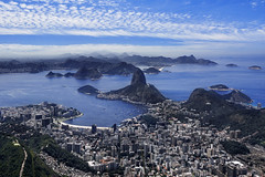 View Of Sugarloaf Mountain, Botafogo And The City of Rio De Janeiro, Brazil, South America (:: Artie | Photography ::) Tags: city brazil mountains beach latinamerica southamerica rio riodejaneiro architecture modern canon landscape harbor landscapes downtown harbour outdoor structures engineering structure unesco christtheredeemer corcovado sugarloaf botafogo atlanticocean metropolitan urca worldheritage artie sugarloafmountain architectures 5dmarkiii 5dm3 cityaerialview baycorcovadomountains botafogoscove