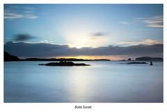 High tide at Bosta. (47mki) Tags: sunset clouds islands rocks bell harris hightide hebrides bosta bernara