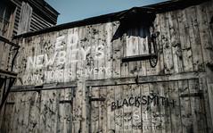'Wild West' 5 (Yowell Art) Tags: wild west jail morningside edinburgh scotland hidden street