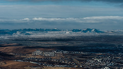 Icelandic population. ( www.ethanleephoto.com) Tags: above cloud house mountain rural landscape fly iceland nikon scene reykjavik nikkor f28 vr 70200mm d4 nortic