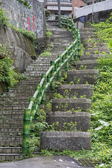 Winding Stairs (jjthandcd) Tags: travel mountain anime town stair taiwan adventure miyazaki spiritedaway winding keelung rueifang chiufen jiufen jioufen zhuyinfuhao newtaipeicity