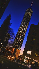 Tall Order (lozadae12) Tags: nyc newyorkcity sunset ny newyork building architecture skyscraper manhattan financialdistrict lowermanhattan broadwayave freedomtower vsco oneworldtrade