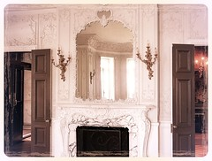 Cylburn Mansion ~  HSS! (karma (Karen)) Tags: texture reflections lights doors mirrors maryland baltimore estates plasterwork mansions fireplaces historichomes sconces cylburnmansion nrhp mantles