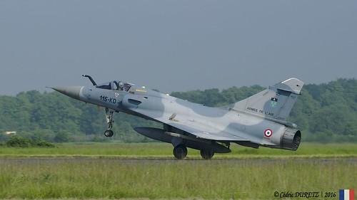 Dassault-Breguet Mirage 2000C RDI / Armée de l'Air / 115-KD