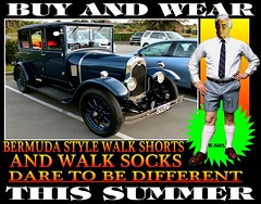Bermuda Walk socks With Old Cars 15 (Tweed Jacket + Cavalry Twill Trousers = Perfect) Tags: auto old car socks vintage 1982 60s legs outdoor 1987 1988 retro auckland 80s nz 1984 wellington 1981 70s 1978 1989 bermuda 1983 1970s kiwi 1986 1977 1980 1980s 1985 1979 carshow bermudashorts pullupyoursocks walkshorts walksocks bermudabermudasocks