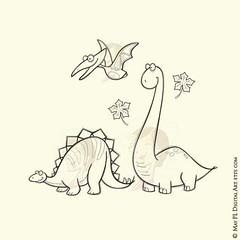 Whimsy Pterodactyl Stegosaurus Brachiosaurus Dinosaur Digistamp Clipart, part of a 13 piece set #Whimsy #Stegosaurus #Pterodactyl #Brachiosaurus #Dinosaur #Clipart digistamp https://goo.gl/kQWNPq (maypldigitalart) Tags: whimsy dinosaur clipart stegosaurus pterodactyl brachiosaurus