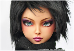 FP60 Siona Tan Mod for Pauy (Eludys) Tags: ball mod doll skin tan makeup bjd fairyland tanned modded jointed siona faceup fp60 feeple eludys