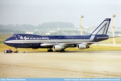 Alitalia - I-DEMF (Aviacaobrasil) Tags: alitalia boeing747200 sãopaulogruairport reinaldodeckleva