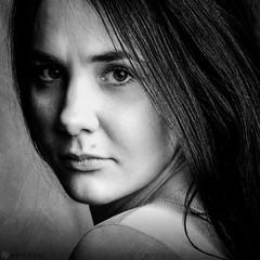 Ekaterina (Anna Atlas) Tags: portrait blackandwhite girl monochrome artwork fineart studioportrait fineartphotographer