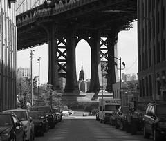 Underneath the Bridge (Tawny042) Tags: street city nyc bridge urban newyork brooklyn nikon manhattan empirestate d700 lovelycity