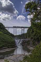IMG9890 (micro_lone_patriot) Tags: letchworthstatepark portageviaduct ny newyork gorge waterfall geneseeriver upperfalls