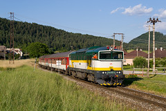 754055, REx782, Luatn, 23. 6. 2016 (Somatko) Tags: railroad yard train outdoor railway vehicle locomotive rex vlak 055 zsr 782 754 renatka zeleznica geravy zssk lucatin