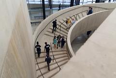 Descent (jonnydredge) Tags: london art architecture de nikon bricks galleries herzog meuron membersday moderneccentrics