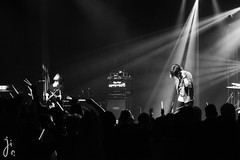 Silhouette from the Skylit live 2015 (7716galaxy) Tags: from blackandwhite music white black silhouette rock backlight germany drums japanese lights concert bass guitar live stage band rockwell bremen jrock kou on tetsuro skylit nipponcon seishirox