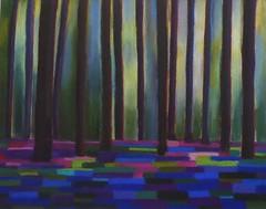 Bluebells # 2 (outrelenoir) Tags: light bluebells arbres lumiere tress sousboisjacynthe