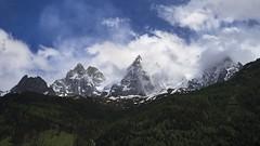 Fighting clouds ! (Claude Jenkins) Tags: sky storm france clouds olympus ciel nuages chamonix montblanc hautesavoie em1