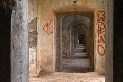 Twierdza oma - Fort I (jacekbia) Tags: building architecture fort poland polska indoor hdr architektura budynek podlasie wntrze pitnica koszary oma twierdza