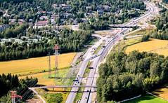 Vaarala & Keh III (Jori Samonen) Tags: road trees cars buildings finland highway power iii bridges line ring fields vantaa vaarala