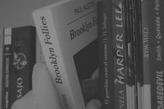 Leer es vivir dos veces. (Lucas Puntossuspensivos.) Tags: books marvel civil war daredevil harper lee jd salinger catcher rye paul auster brooklyn follies mockinjay hunger games go set watchman kill mocking bird