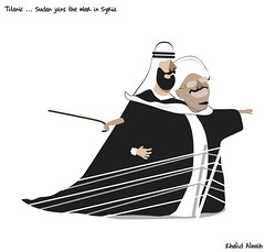 titanic (khalid Albaih) Tags: khalid albaih cartoons khartoon freedom speech press political             refugees welcome isis is islamic belgam make america great again madonna iraq syria sudan yemen listen gob