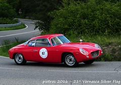 DSC_6609 - Lancia Appia Zagato - 1960 - Bardelli Fausto - CPAE (pietroz) Tags: silver photo foto photos flag historic fotos pietro storico zoccola 21 storiche vernasca pietroz