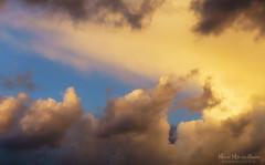 Nubes (Mimadeo) Tags: light sunset sky cloud sunlight texture beautiful sunshine clouds evening heaven background cloudscape